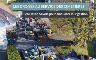 Les drones au service des cimetières